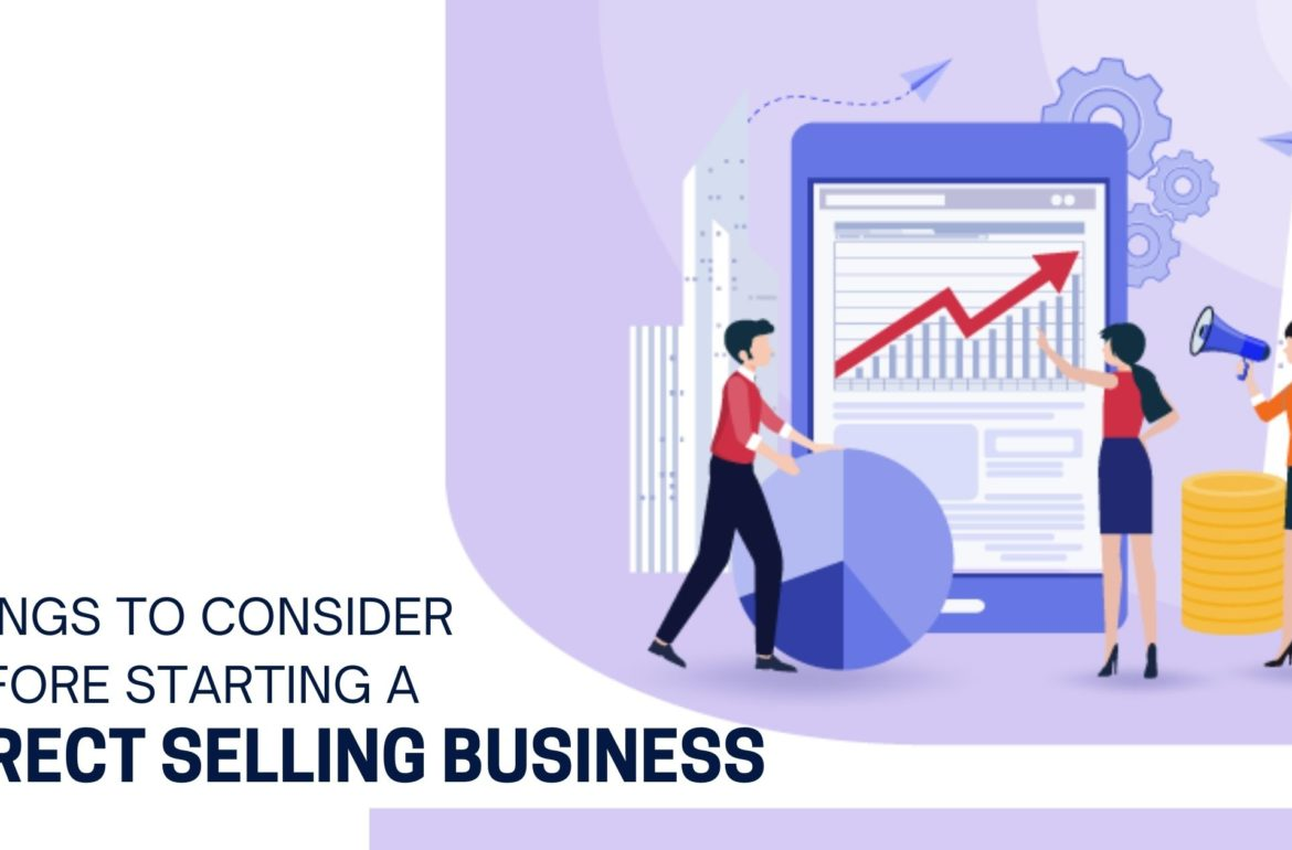 Things to consider before starting a direct selling business